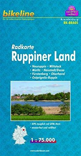 9783850003049: Bikeline Radkarte Deutschland/Ruppiner Land