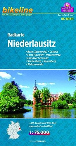 9783850003087: Niederlausitz Cycle Map: BIKEK.DE.BRA11