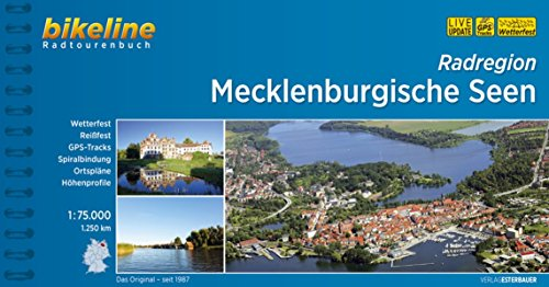 9783850003636: Bikeline Radatlas Mecklenburgische Seen: 1:75000, 1.200 km