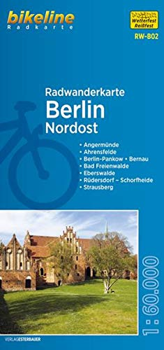 Berlin Northeast Cycling Tour Map: BIKERW.DE.B02: Verlag Esterbauer
