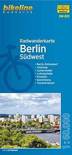 9783850003971: Bikeline Radwanderkarte Berlin S�dwest 1 : 60 000