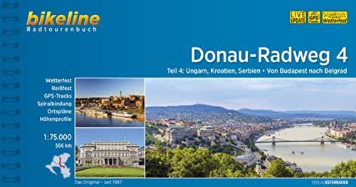 9783850004244: Donau - Radweg 4 Von Budapest nach Belgrad 2016 [Idioma Inglés]