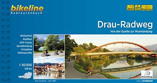 9783850004350: Bikeline Drau-Radweg: Von der Quelle nach Maribor. Radtourenbuch 1 : 50 000, 360 km, wetterfest/reißfest, GPS-Tracks-Download (No)