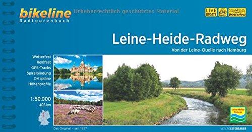 9783850004831: Leine - Heide - Radweg von der Leine-Quelle nach Hamburg 2017