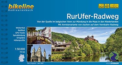 9783850004923: Bikeline Radtourenbuch RurUfer-Radweg: