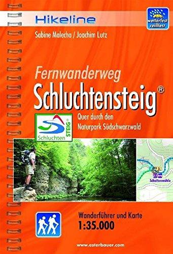 9783850005258: Schluchtensteig Fernwanderweg: BIKEWF.DE.69