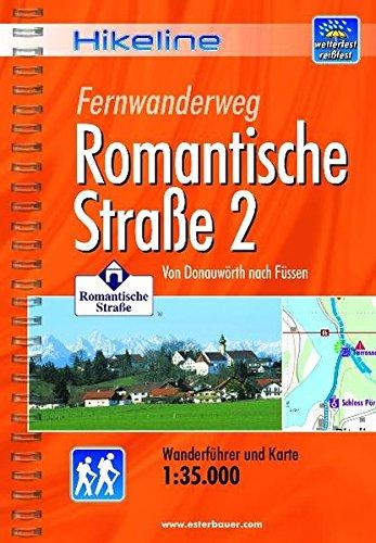 9783850005388: Romantische Strasse 2 Fernwanderweg: BIKEWF.DE.61