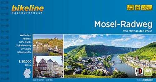 9783850006378: Mosel Radweg von Metz an den Rhein 2018