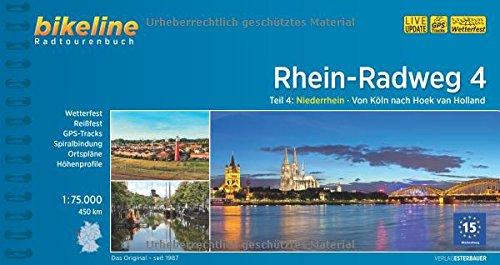 9783850006712: Rhein Radweg 4 von Koln Nach Hoek van Holland 2015: BIKE.386