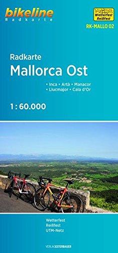 Radkarte Mallorca Ost: Inca - Artà -: Esterbauer Verlag