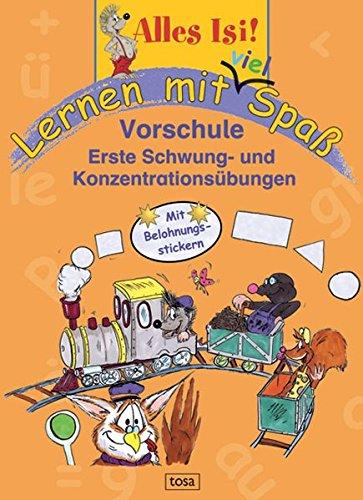 9783850032759: Lernen mit viel Spaß: Vorschule: Erste Schwung- und Konzentrationsübungen