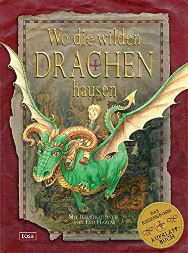 9783850033770: Wo die wilden Drachen hausen: Das riesengroße Aufklapp-Buch