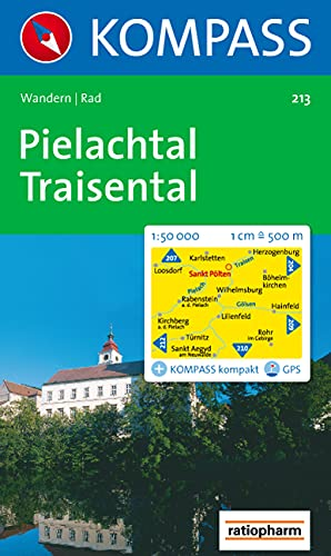 9783850260329: Carta escursionistica n. 213. Austria. Ad est delle Alpi. Vienna, Stiria... Pielachtal, Traisental, St. Polten 1:50.000. Adatto a GPS. DVD-ROM digital map