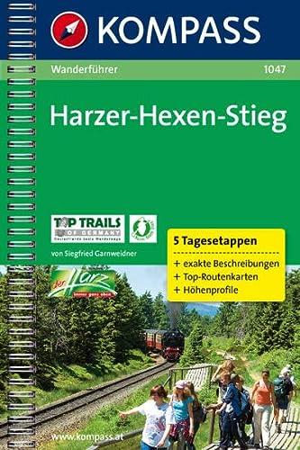 9783850260770: Harzer Hexenstieg: Wanderführer mit Toproutenkarten und Höhenprofilen