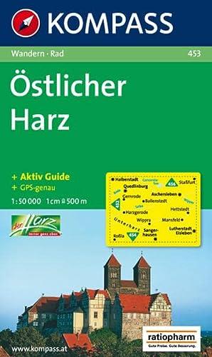 9783850261159: Östlicher Harz 1 : 50 000: Wanderkarte mit Kurzführer, Radrouten und Aktiv Guide. GPS-genau