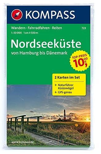 9783850262026: Carta escursionistica e stradale n. 723. Nordseek�ste/von Hamburg bis D�nemark set. Adatto a GPS. DVD-ROM. Digital map