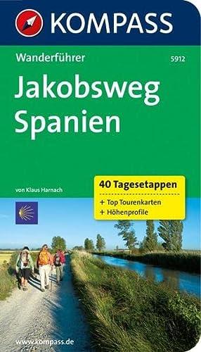 9783850262446: Jakobsweg Spanien