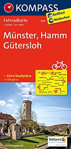 9783850262736: Carta cicloturistica n. 3051. Munster, Hamm, Guthersloh 1:70.000. Adatto a GPS. DVD-ROM. Digital map