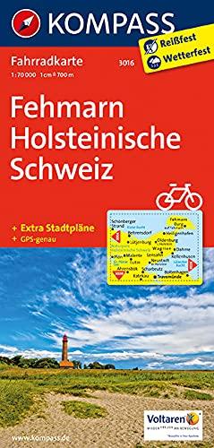 Holsteinische Schweiz Karte.9783850262873 Fehmarn Holsteinische Schweiz 1 70 000