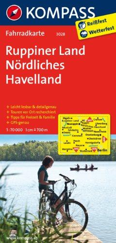 9783850262897: Kompass FK3028 Ruppiner Land, Nördliches Havelland: Fietskaart 1:70 000