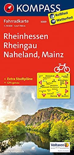 9783850263092: Rheinhessen - Rheingau - Naheland - Mainz 1 : 70 000: Radkarte. GPS-genau