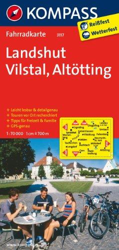 9783850263290: Landshut - Vilstal - Alt�tting 1 : 70 000: Radkarte. GPS-genau
