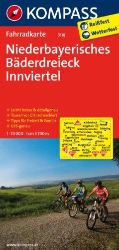 9783850263306: Niederbayerisches Bäderdreieck - Innviertel 1 : 70 000