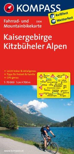 9783850263382: Kaisergebirge - Kitzbüheler Alpen 1 : 70 000