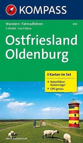 9783850263443: Ostfriesland - Oldenburg 1 : 50 000