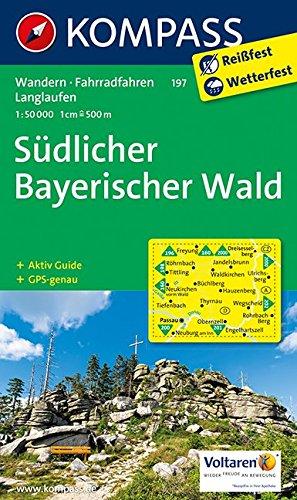 9783850264624: Südlicher Bayerischer Wald 1 : 50 000: Wanderkarte mit Kurzführer, Radwegen und Langlaufloipen. GPS-genau