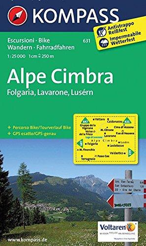 9783850264693: Altipiani di Folgaria / Lavarone e Luserna 1 : 25 000