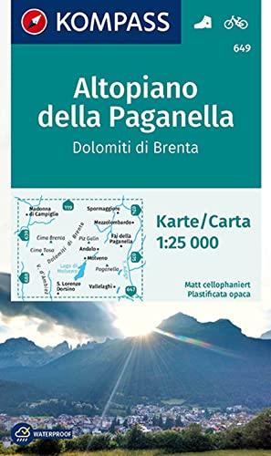 9783850265362: Carta escursionistica n. 649. Altopiano della Paganella, Dolomiti di Brenta 1:25.000. Adatto a GPS. Digital map. DVD-ROM