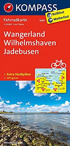 Wangerland - Wilhelmshaven - Jadebusen 1 : 70 000: Fahrradkarte. GPS-genau. Leicht lesbar & ...