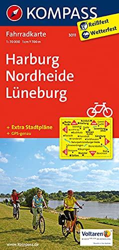 9783850265508: Harburg - Nordheide - Lüneburg 1 : 70 000: Fahrradkarte. GPS-genau