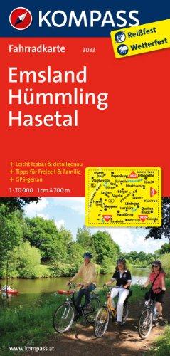 9783850265621: Emsland - H�mmling - Hasetal 1 : 70 000: Fahrradkarte. GPS-genau