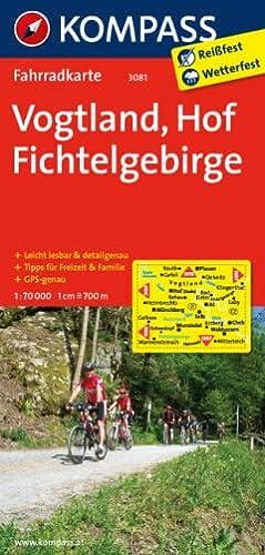 9783850265843: Vogtland - Hof - Fichtelgebirge 1 : 70000: Fahrradkarte. GPS-genau