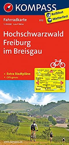 9783850265966: Hochschwarzwald - Freiburg im Breisgau 3112 GPS wp kompass