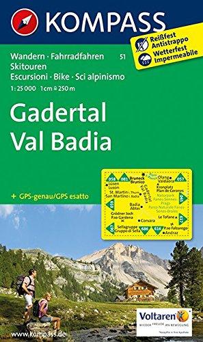 9783850266604: Gadertal - Val Badia 1 : 25 000
