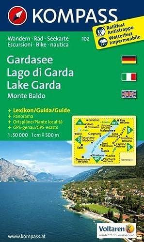 9783850266765: Gardasee 102 Gps Wp Kompass Die