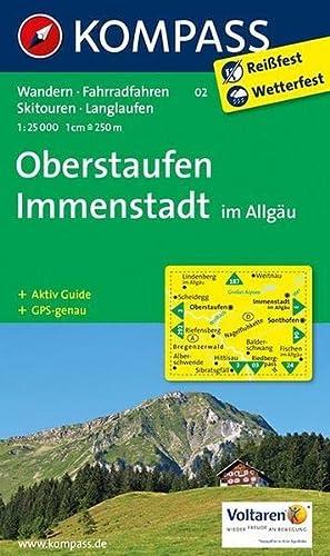 9783850266932: Oberstaufen, Immenstadt im Allgäu 1 : 25 000: Wanderkarte mit Aktiv Guide, Radwegen, Skitouren und Loipen. GPS-genau.1:25000