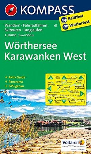 9783850267069: Wörthersee, Karawanken West 1 : 50 000