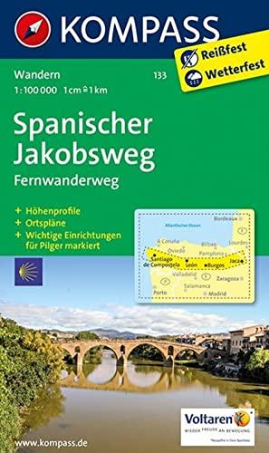 9783850267076: Spanischer Jakobsweg 133 Wp Kompass Di