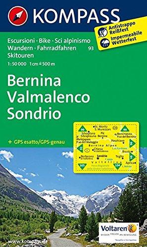 9783850267281: 93 Bernina, Valmalenco, Sondrio