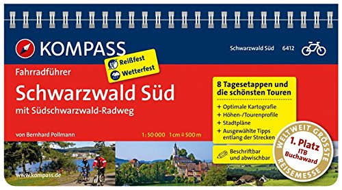 9783850267632: SCHWARZWALD SÜD 6412 (VELO - Divers) (French Edition)