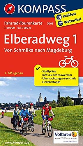 9783850267694: Elberadweg 1, Von Schmilka nach Magdeburg 1 :50 000