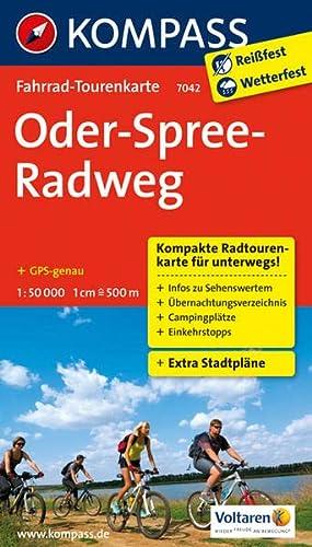 9783850268059: Oder-Spree-Radweg 1 : 50 000: Fahrrad-Tourenkarte. GPS-genau