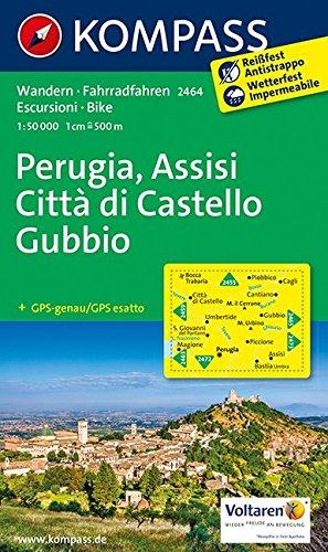 9783850268431 Perugia Assisi Gubbio 2464 Gps Wp Kompass D I