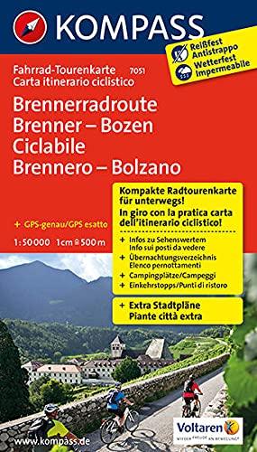 9783850268554: Vom Brenner nach Bozen 1 : 50 000: Fahrrad-Tourenkarte. GPS-genau