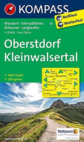 9783850268684: Oberstdorf - Kleinwalsertal 1 : 25 000