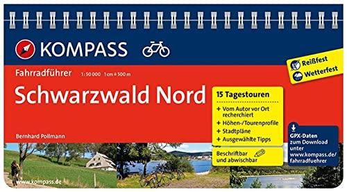 9783850269308: Schwarzwald Nord: Fahrradführer mit Top-Routenkarten im optimalen Maßstab